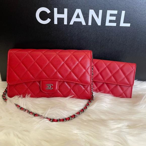 🦄✨RARE✨🦄 Red chanel bag